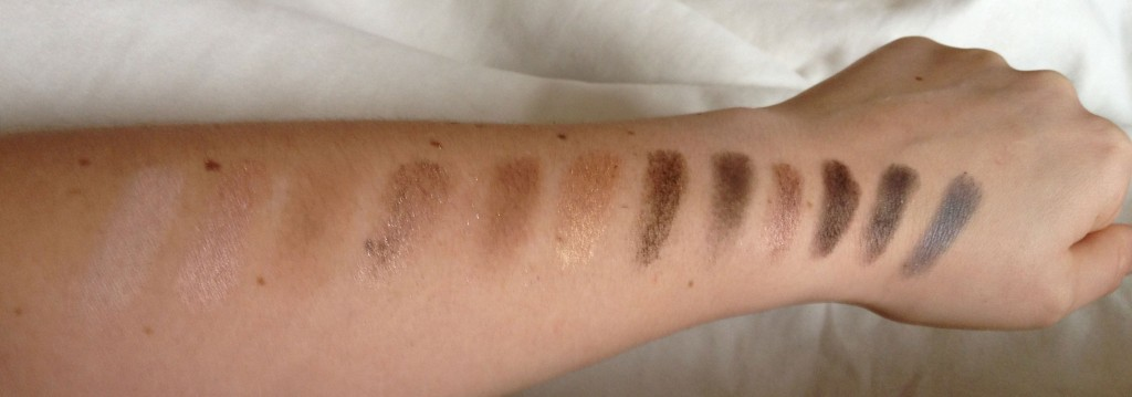 Urban Decay Naked 1 Palette Swatches