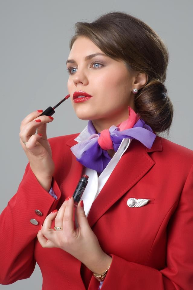 Virgin Atlantic Upper Class Red Lipstick