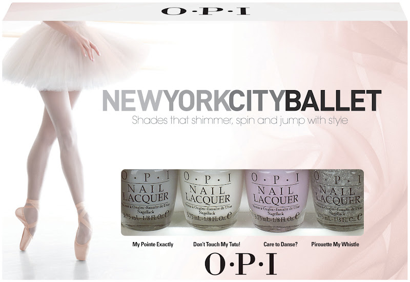 OPI New York City Ballet Minis
