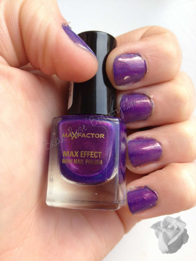 Max Factor Nail Polish Fantasy Fire