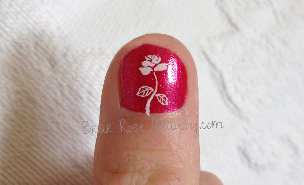 Konad Rose Nail Art