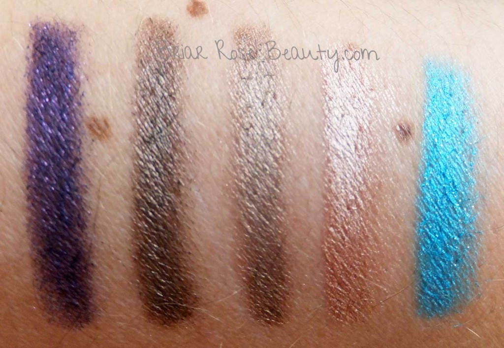 Urban Decay 24/7 Shadow Pencil Stash Swatches