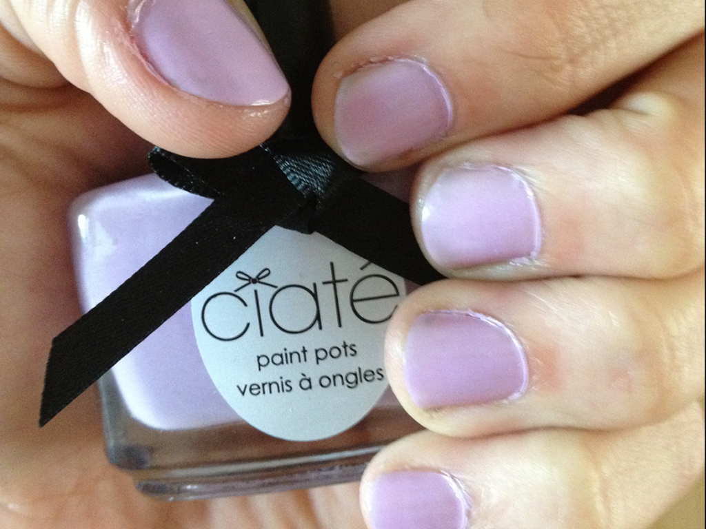 Ciate Purple Sherbet Nail Polish