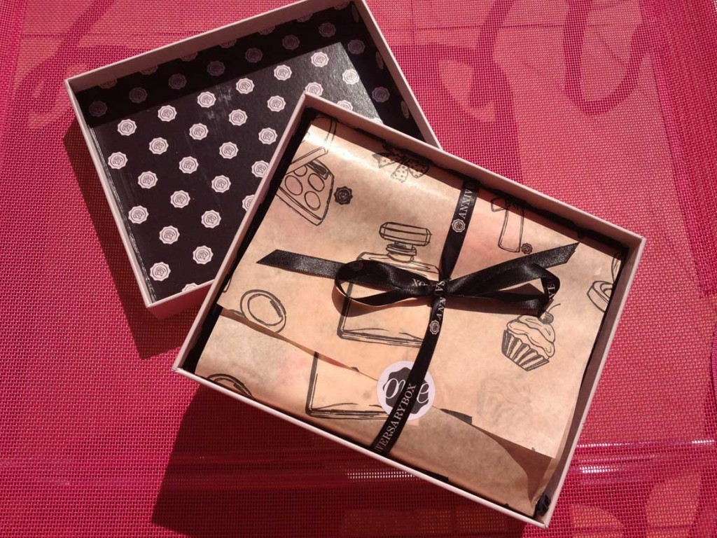 Open Glossy Box